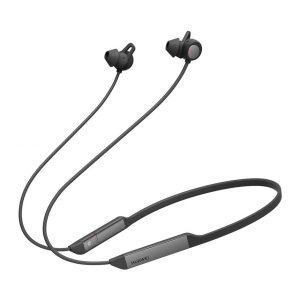 سماعات Huawei لاسلكية بالبلوتوث مع مايكروفون – أسود فحمي