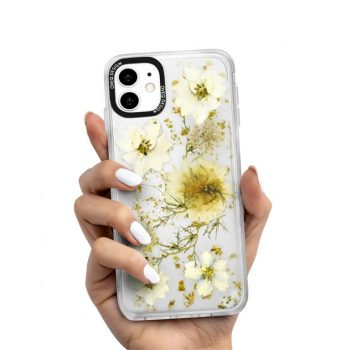 iPhone Covers White Tulips Design