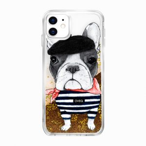 جراب أيفون تصميم Artist Dog