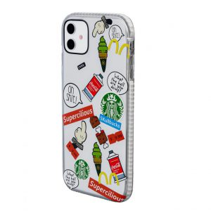 iPhone Cover Food Lovers Elegance Design