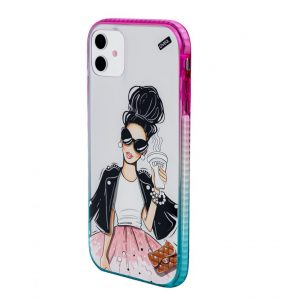 iPhone Cover Fashionista Elegance Design
