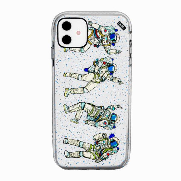 جراب أيفون تصميم Astronaut أنيق