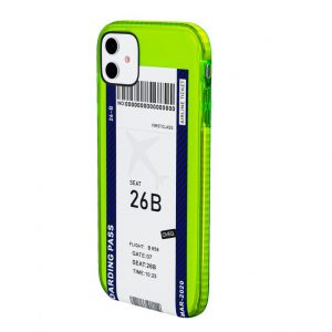 iPhone Cover Flight Ticket Elegance Design