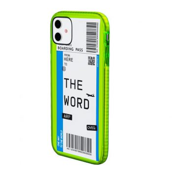 iPhone Cover Boarding Pass Elegance Design
