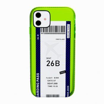 iPhone Cover Flight Ticket Elegance Design
