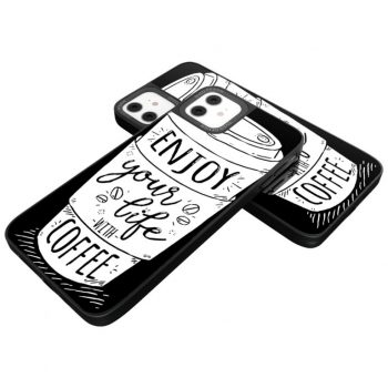 iPhone Cover Coffee Lovers Glassy Design