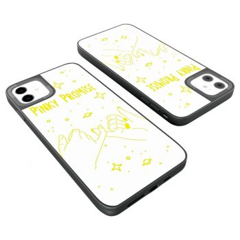 iPhone Cover Pinky Promise Glassy Design