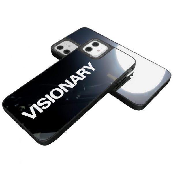 جراب أيفون تصميم Visionary زجاجي