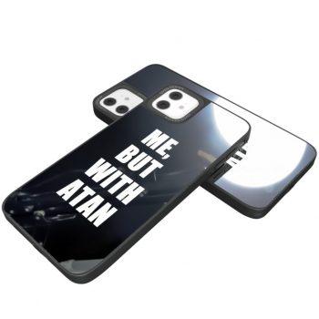 iPhone Cover Tan Glassy Design