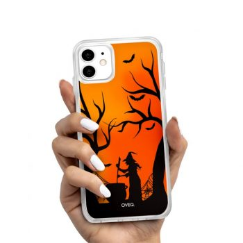 iPhone Cover Witch Glow Design
