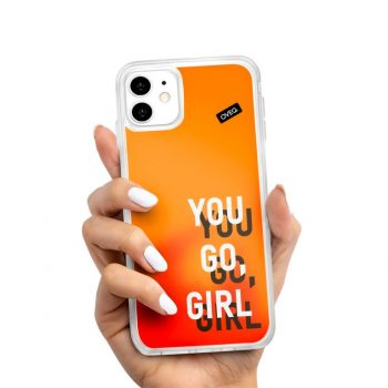 iPhone Cover Go Girl Glow Design
