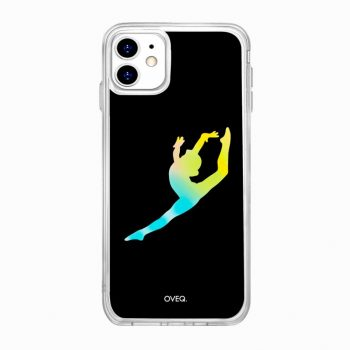 iPhone Cover Free Ballerina Glow Design