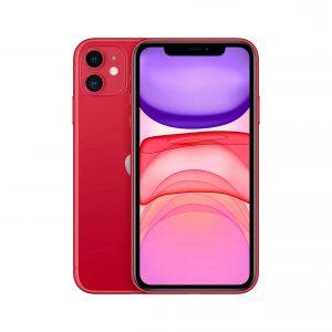 أبل أيفون 11 [Slim Box]- احمر - 128 جيجا - خط واحد