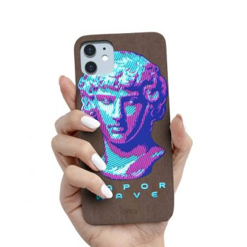 iPhone Cover Vapor Wave Woody Design