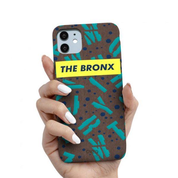 جراب أيفون تصميم The Bronx خشبي