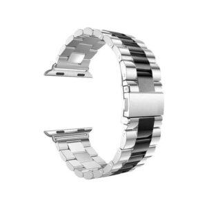 VPG ساعة ابل 42/44mm باند ستانلس – Black Silver