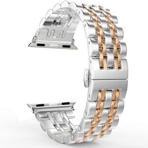 VPG ساعة ابل 42/44mm باند ستانلس – Gold