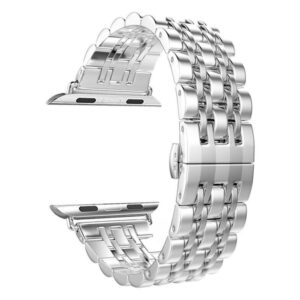VPG ساعة ابل 42/44mm باند ستانلس – Silver