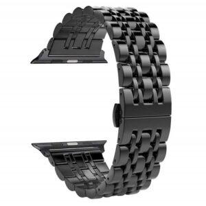 VPG ساعة ابل 42/44mm باند ستانلس – Black