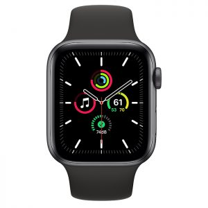 ساعة أبل SE Aluminum Case 44mm GPS – Space Gray