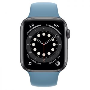 ساعة أبل Series 6 Aluminum Case 44mm GPS – Blue