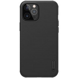 جراب Nillkin Super Frosted Shield Pro Matte لأيفون 12 – Black, iPhone 12 / 12 Pro