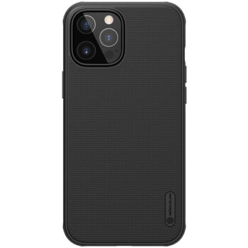 Nillkin Super Frosted Shield Pro Matte Case for iPhone 12 , 12 Pro , 12 Pro Max – Black, iPhone 12 Pro Max