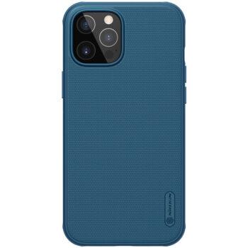 جراب Nillkin Super Frosted Shield Pro Matte لأيفون 12 – Blue, iPhone 12 Pro Max