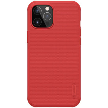 جراب Nillkin Super Frosted Shield Pro Matte لأيفون 12 – أحمر, iPhone 12 Pro Max