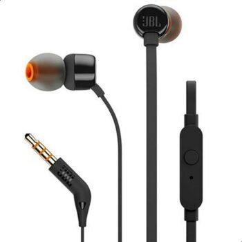 JBL T110 Wired In-Ear Earphones –...