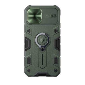 جراب Nillkin CamShield Armor لأيفون ١٢ / ١٢ برو – أخضر Army