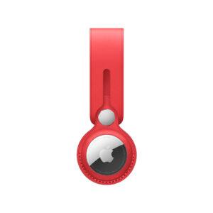 حلقة ميدالية جلد لـ Apple AirTag...