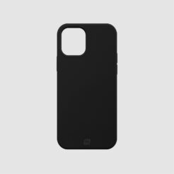 Momax Silicone Case (Anti-Bacterial) for iPhone 12 – Black