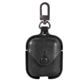 Leather Case Suit for AirPods – Black
